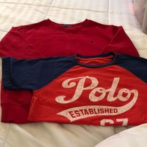 Polo boys sweatshirt and T-shirt size s and m